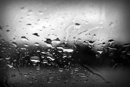 Close up of water drops on window Stock Photo - 17766208