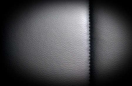 Black dark leather background, texture with vignette Stock Photo - 18495905
