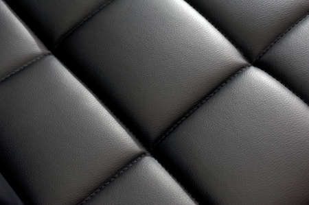 Black dark leather background, diagonal texture Stock Photo - 18496188