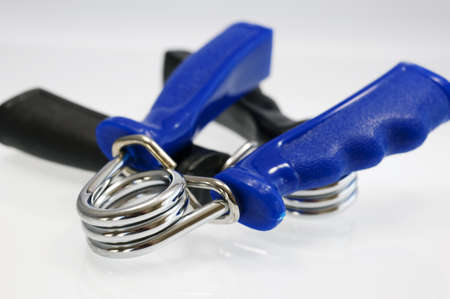 Close up of hand strengthener, shallow depth of field Stock Photo - 19497415