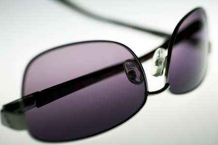 Close up of purple sunglasses, shallow depth of field Stock Photo - 19497418