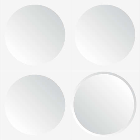 aberrant: Abstract seamless white background with circles, eps10