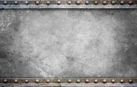 metal textures: Grunge background with space for text or image Stock Photo