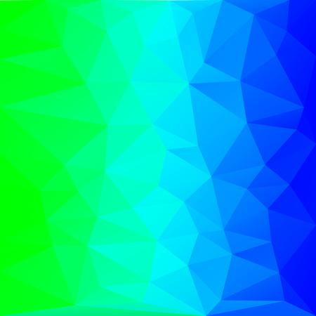 azure polygon background, blue triangle background, polygon graphics, blue pattern, banner, screensaver, vector illustration for desktop