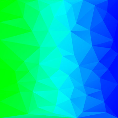 azure polygon background, blue triangle background, polygon graphics, blue pattern, banner, screensaver, vector illustration for desktop