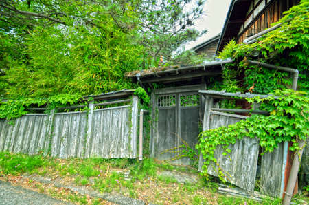 Japanese old house.