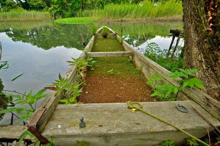 Japans Secret Garden in biwa lake? Stock Photo