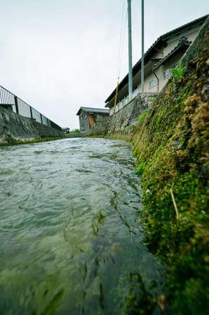 일본의 비밀의 정원과 강
