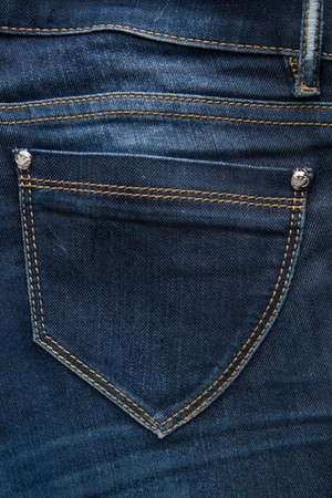 Back Pocket of Jeans photo