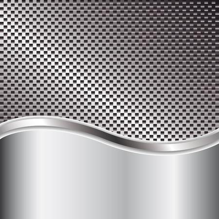Fond en métal pour la conception de votre