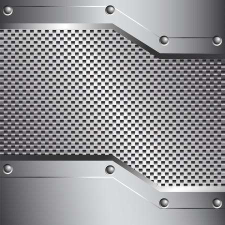 Metall Hintergrund für Ihr Design