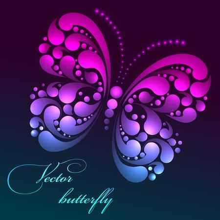 Vector butterfly Vector