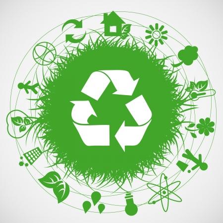 logo recyclage: Terre écologie