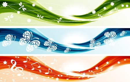 Set of banners Stock Vector - 10555977