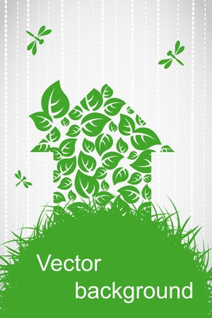 eco energy: Ecological house