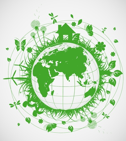 Ecological planet Stock Vector - 10555878