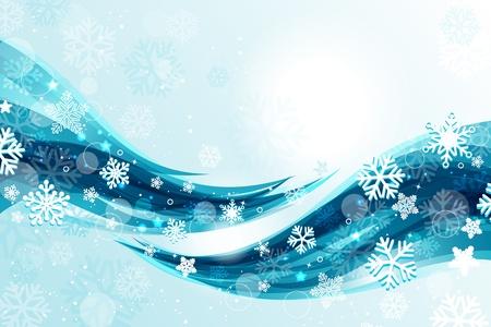 januar: Hintergrund Weihnachten Illustration