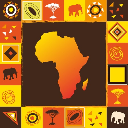 the continents: African background