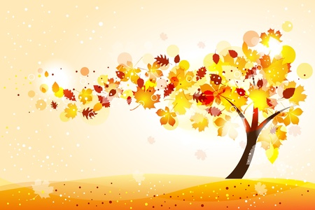 defoliation: Autumn  background