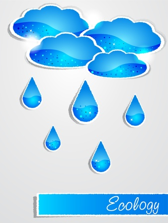 raindrops: Documento de la lluvia