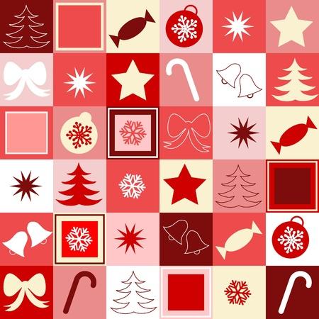 Kerst naadloze