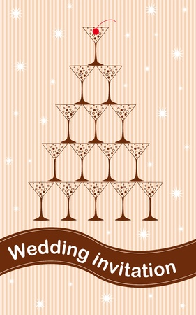 Wedding invitation Stock Vector - 11481659