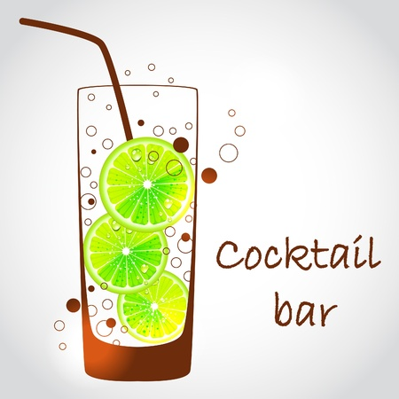 alcoholic drinks: cocktail glass