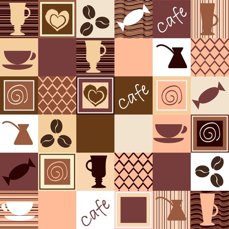 Coffee seamless Stock Vector - 11481663