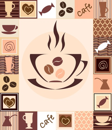Coffee seamless Stock Vector - 11481664