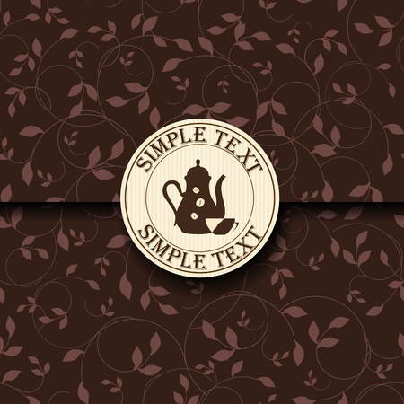 Template of a coffee shop Stock Vector - 12223670
