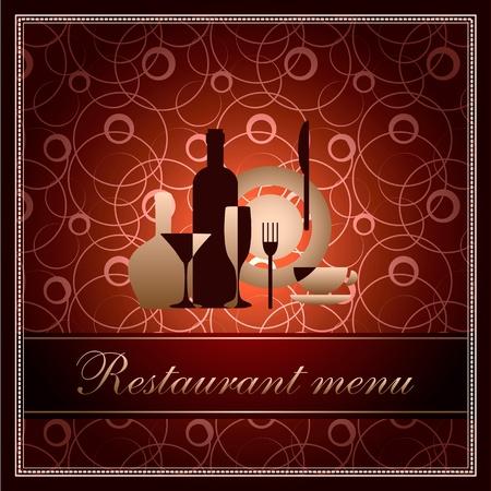luxury template for restaurant menu