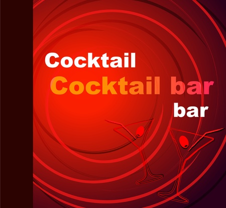 price list: Template of a cocktail bar