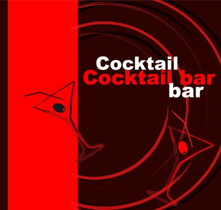 Template of a cocktail bar Stock Vector - 12223607