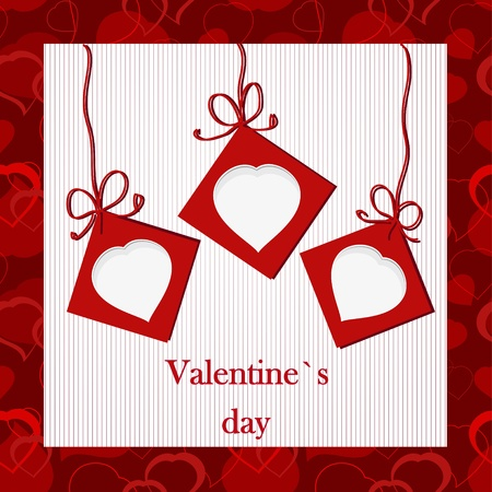 i nobody: Valentine`s card