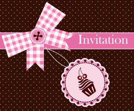 tea break: Invitation card