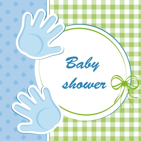 born: baby shower - boy