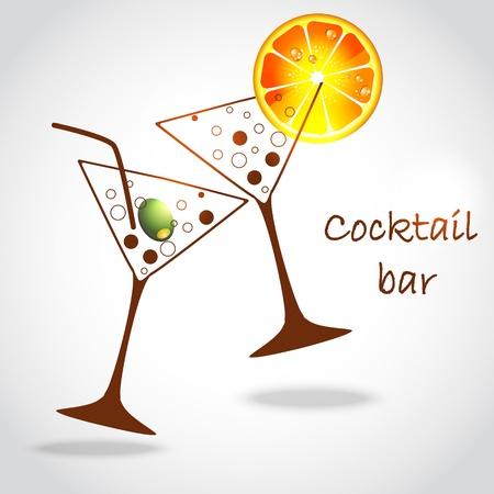 copa martini: vasos de cóctel