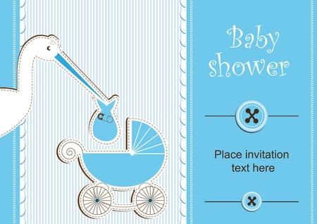 Baby shower - garçon