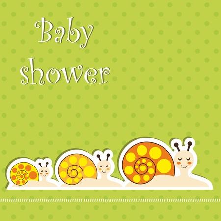 ベビー シャワー カード