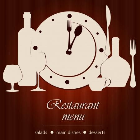 Dinner time Stock Vector - 14024090