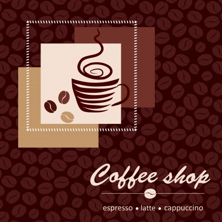 Template of coffee shop Stock Vector - 14024003