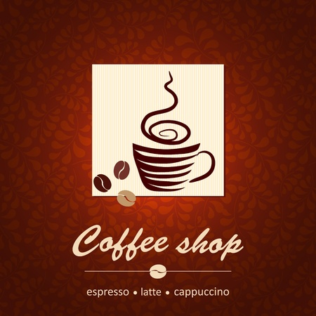 Template of coffee shop Stock Vector - 14024103