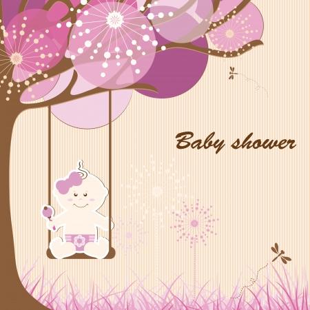 Baby shower - fille