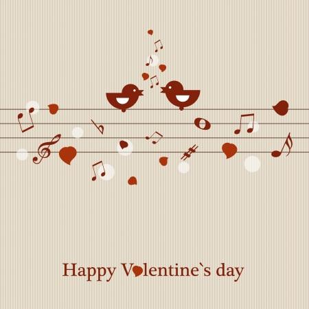 Valentine s-Karte