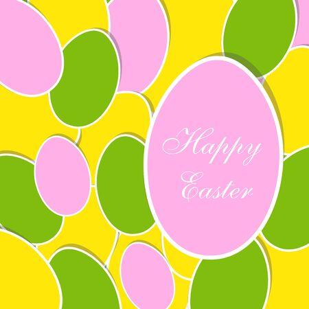 Easter card Stock Vector - 17553137