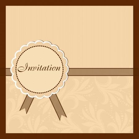 Invitation card Stock Vector - 17553145