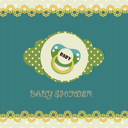 nipple: Baby shower card