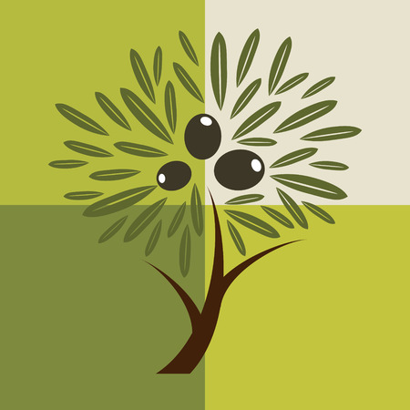 olive: Olive tree background.  For labels, organic cosmetic, packaging