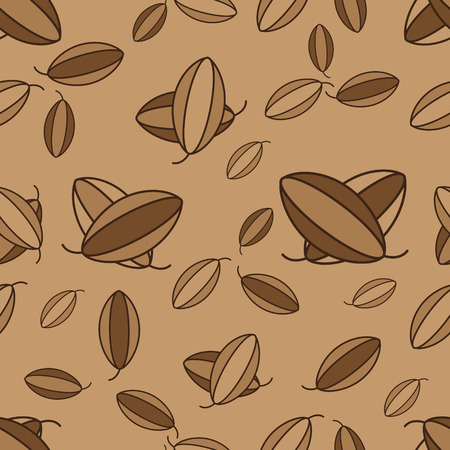 cocoa: Vector cacao seamless for design wrapping paper, packaging chocolates, packages for chocolate, scrap-booking Illustration