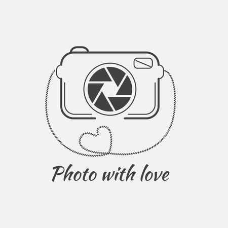 Vector of photography logo templates. Vettoriali